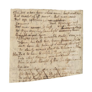 In asta da Bonhams un manoscritto di John Keats