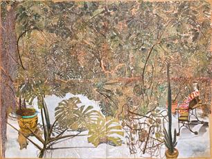 """SAM SZAFRAN """"50 anni di pittura"""" alla Fondation Pierre Gianadda di Martigny"""