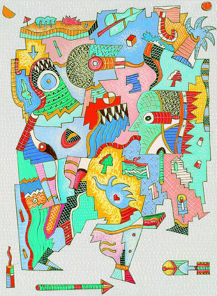 Il pittore Pino Chimenti in mostra la MACA