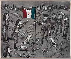 Novanta artisti per un a bandiera, il progetto