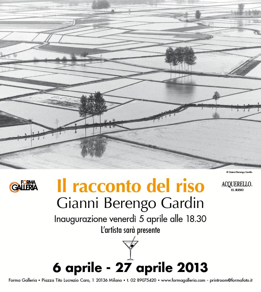 """Da Forma Galleria, la mostra """"Il racconto del riso"""" di Gianni Berengo Gardin"""