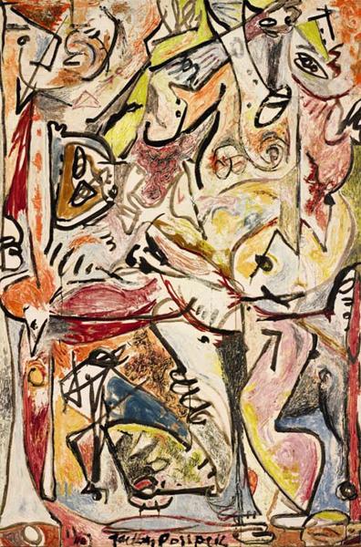 """""""The Blue Unconscious"""" di Jackson Pollock da Sotheby's"""