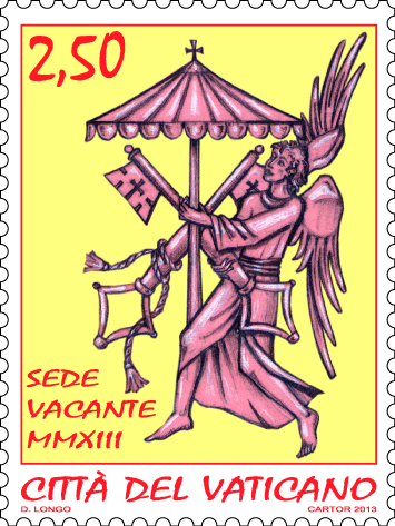 Emissione di francobolli di Sede Vacante