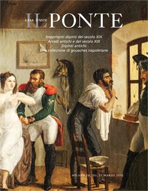 """Da Il Ponte casa d'aste """"Importanti dipinti del XIX secolo, Arredi antichi e del XIX secolo"""""""