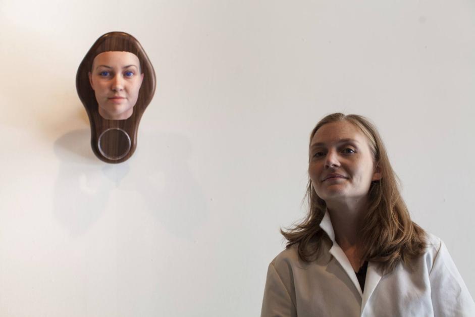 Ritratti con il codice genetico in 3D