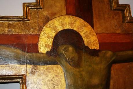 Recuperata una crocifissione di Paolo Veneziano
