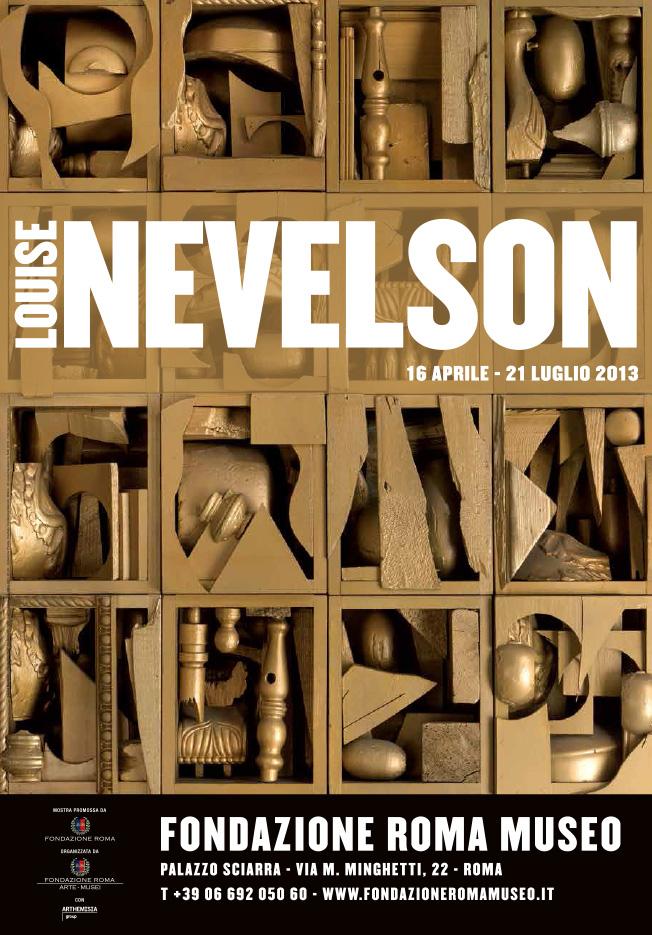"""Louise Nevelson e l'oltrescultura"" con Thierry Dufrêne"