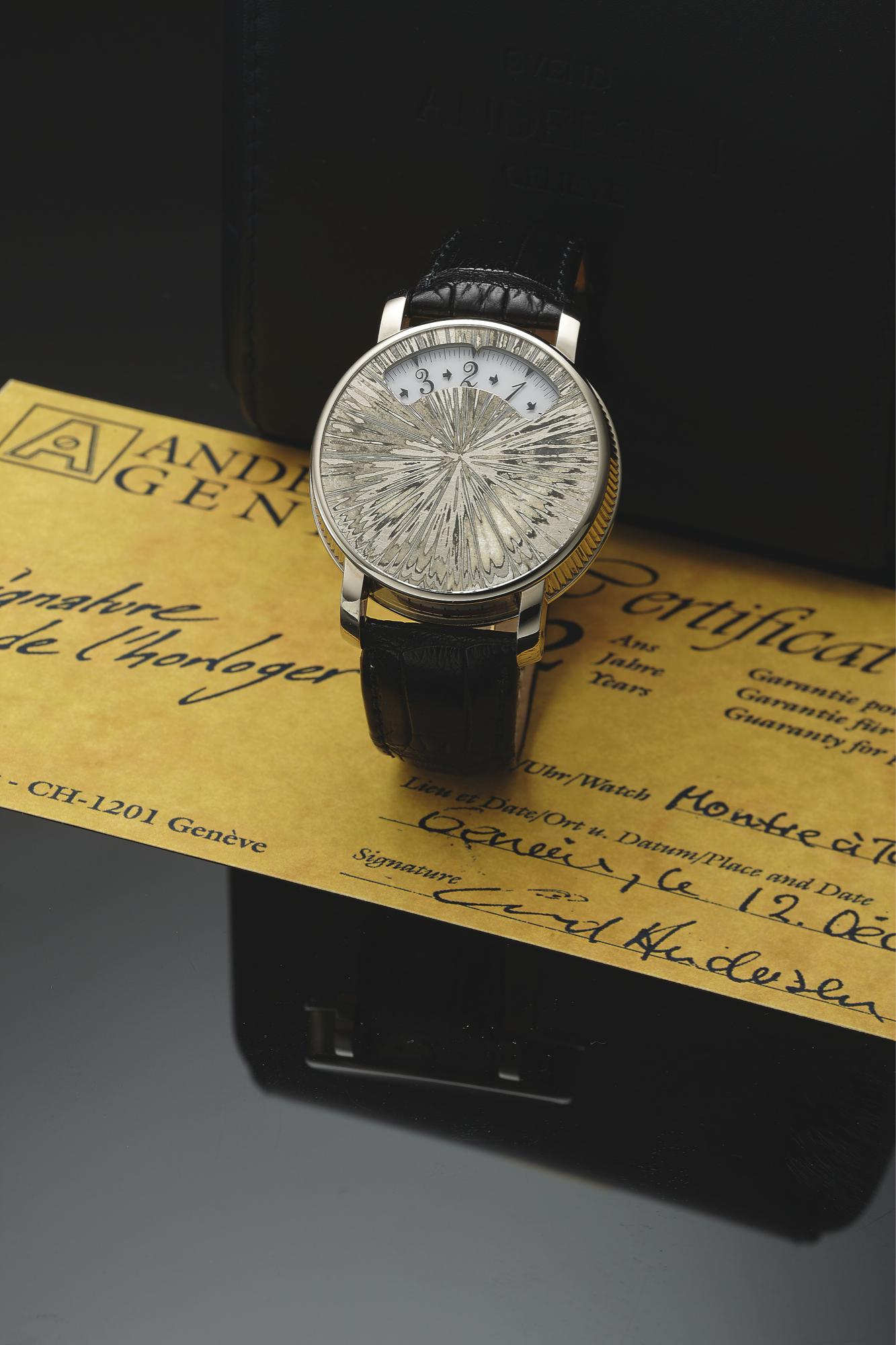 Collezione di orologi da Svend Andersen da Antiquorum