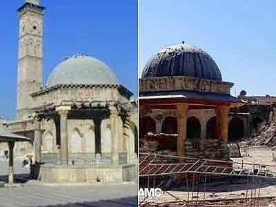 Siria: distrutto antico minareto moschea degli Omayyadi ad Aleppo