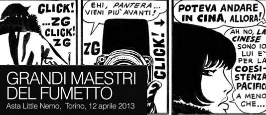 Asta Little Nemo Fabio Civitelli a Torino e Brescia