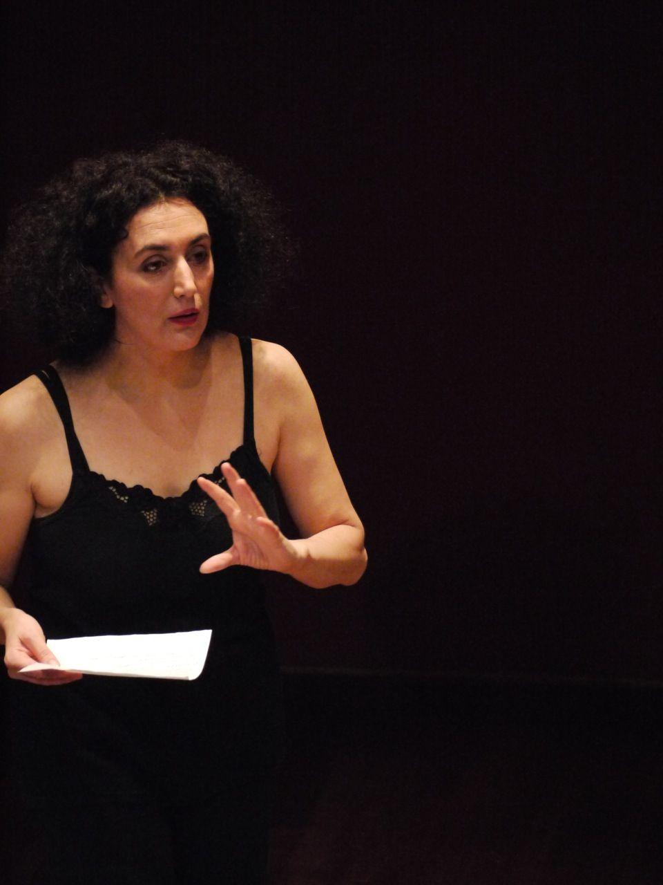 Lezione Aperta di Cristiana Morganti in Brera a Milano