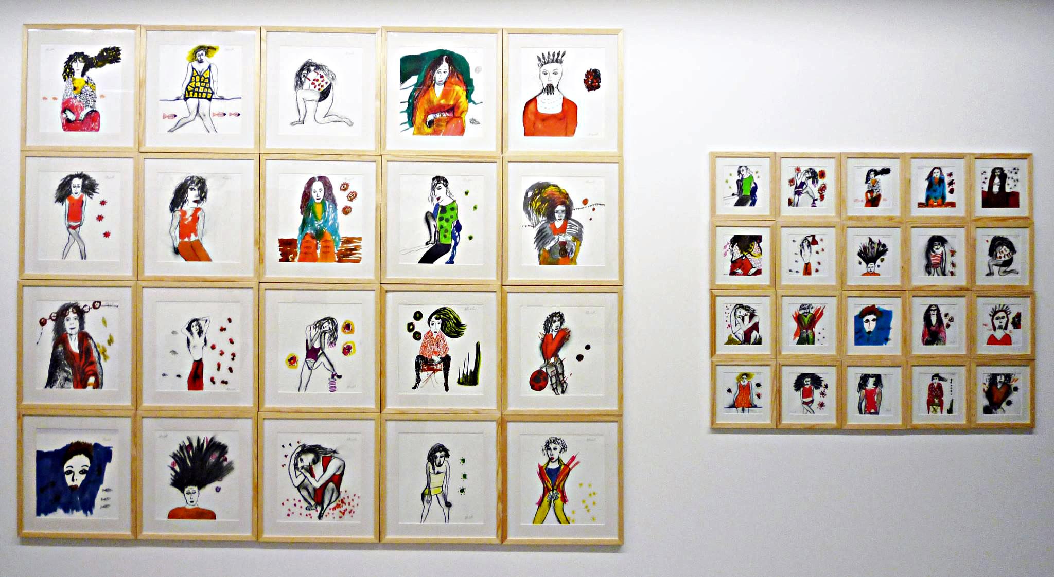 Proroga della mostra di Dominique Albertelli alla Galerie Olivia Ganancia