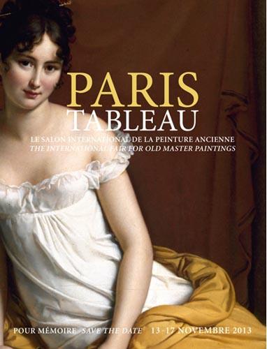 Paris Tableau, la pittura antica in primo piano dal 13 al 17 novembre 2013