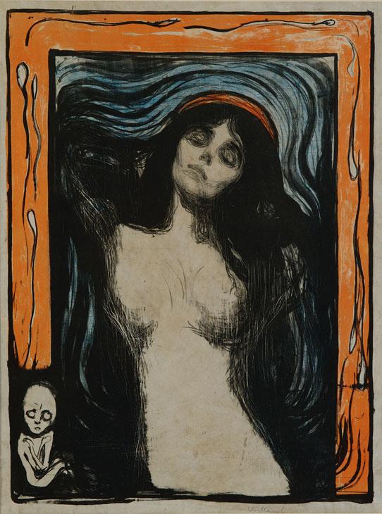 Edvard Munch oggi al cinema e dal 4 ottobre a Palazzo Ducale di Genova