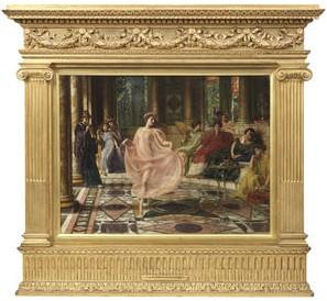 """All'asta """"The Ionan Dance"""" di Sir Poynter, ritrovato dopo 100 anni"""
