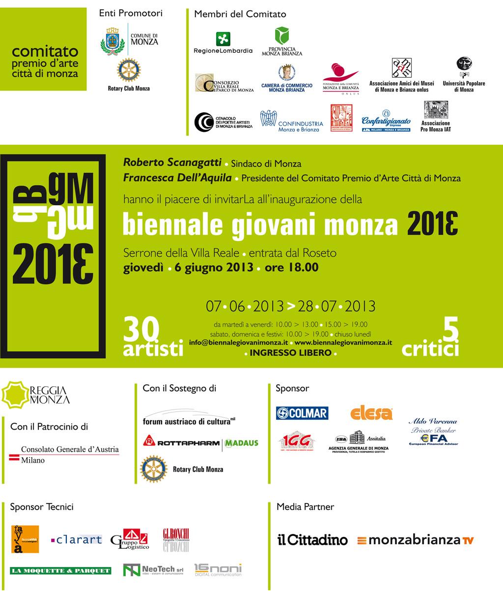 Biennale giovani Monza 2013
