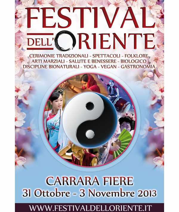 A ottobre, la magia dell'Oriente a Carrara