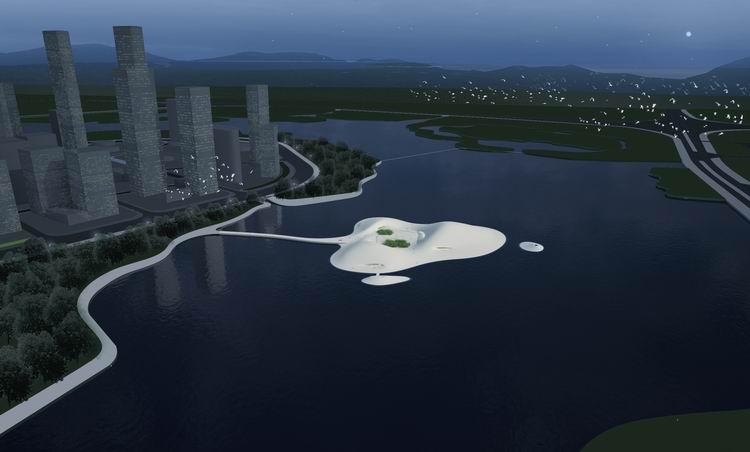 Partito il cantiere per il Pingtan Art Museum in Cina