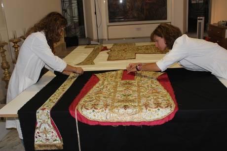 Restaurato il tesoro di San Francesco a Ripa