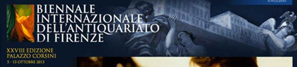 LONGARI ARTE parteciperà alla Biennale Antiquariato di Firenze