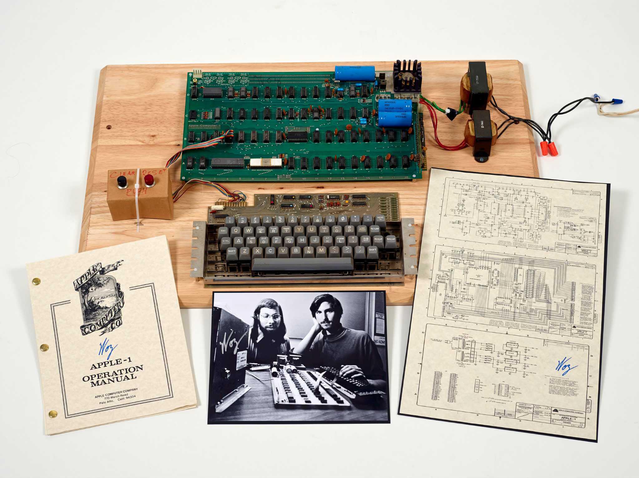 387,750 dollari per il primo computer Apple della storia