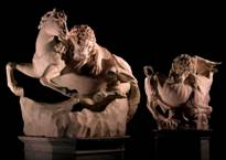 Monumental Lions on view at Frieze Masters 2013