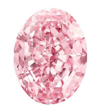 The Pink Star: un raro diamante rosa da 59.60 carati in asta a Ginevra