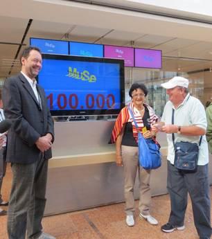 100.000 visitatori per il MUSE di Trento