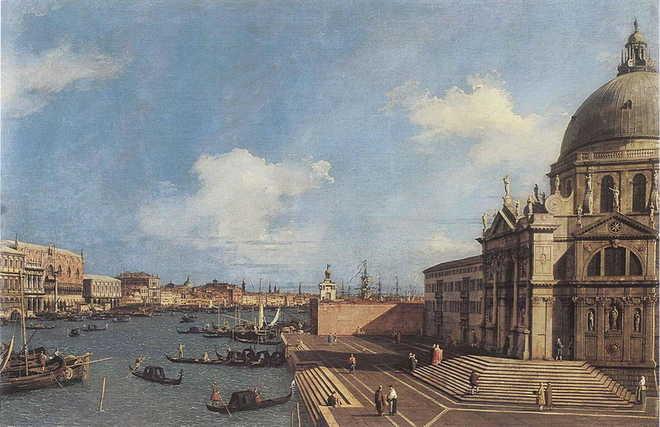 Prezzo folle per una visita privata a un dipinto di Canaletto