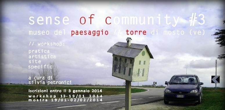 SenseOFcommunity dedica il terso incontro al Museo del Paesaggio (VE)