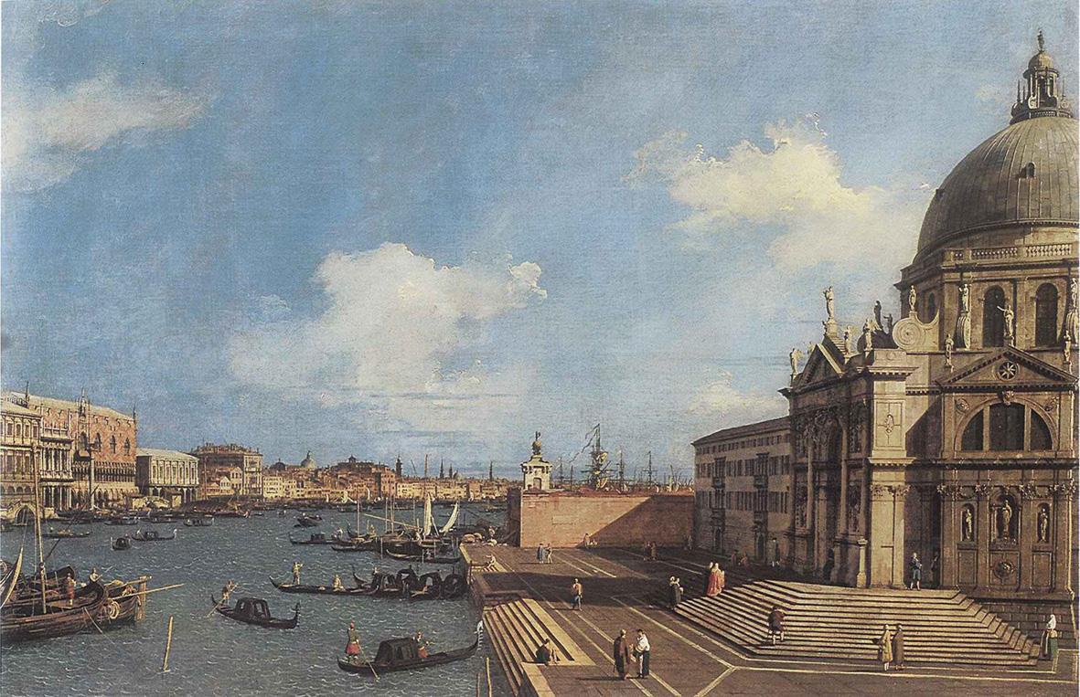 Canaletto torna all'Abbazia di San Gregorio