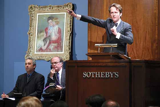 Sotheby's tira le somme del 2013 e segna una crescita del 19%