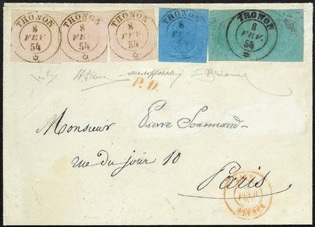 Bolaffi: una busta del 1854 vola a 96mila euro