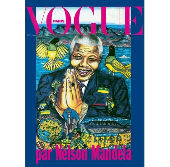 Vogue Paris omaggia Nelson Mandela