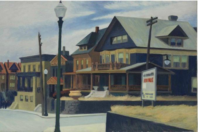 76.8 milioni $ per l'Arte Americana. Edward Hopper a $40,485,000