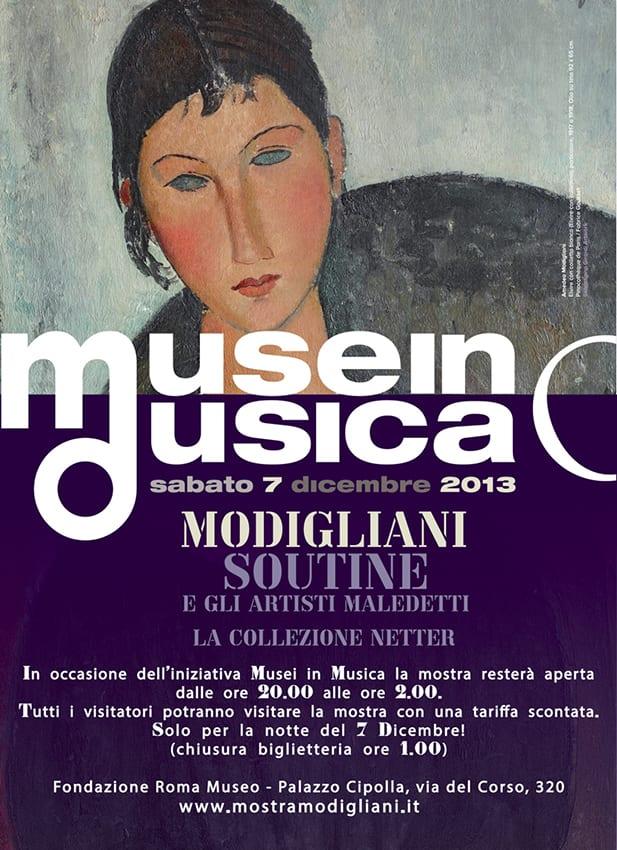 Modigliani fa le ore piccole a Roma