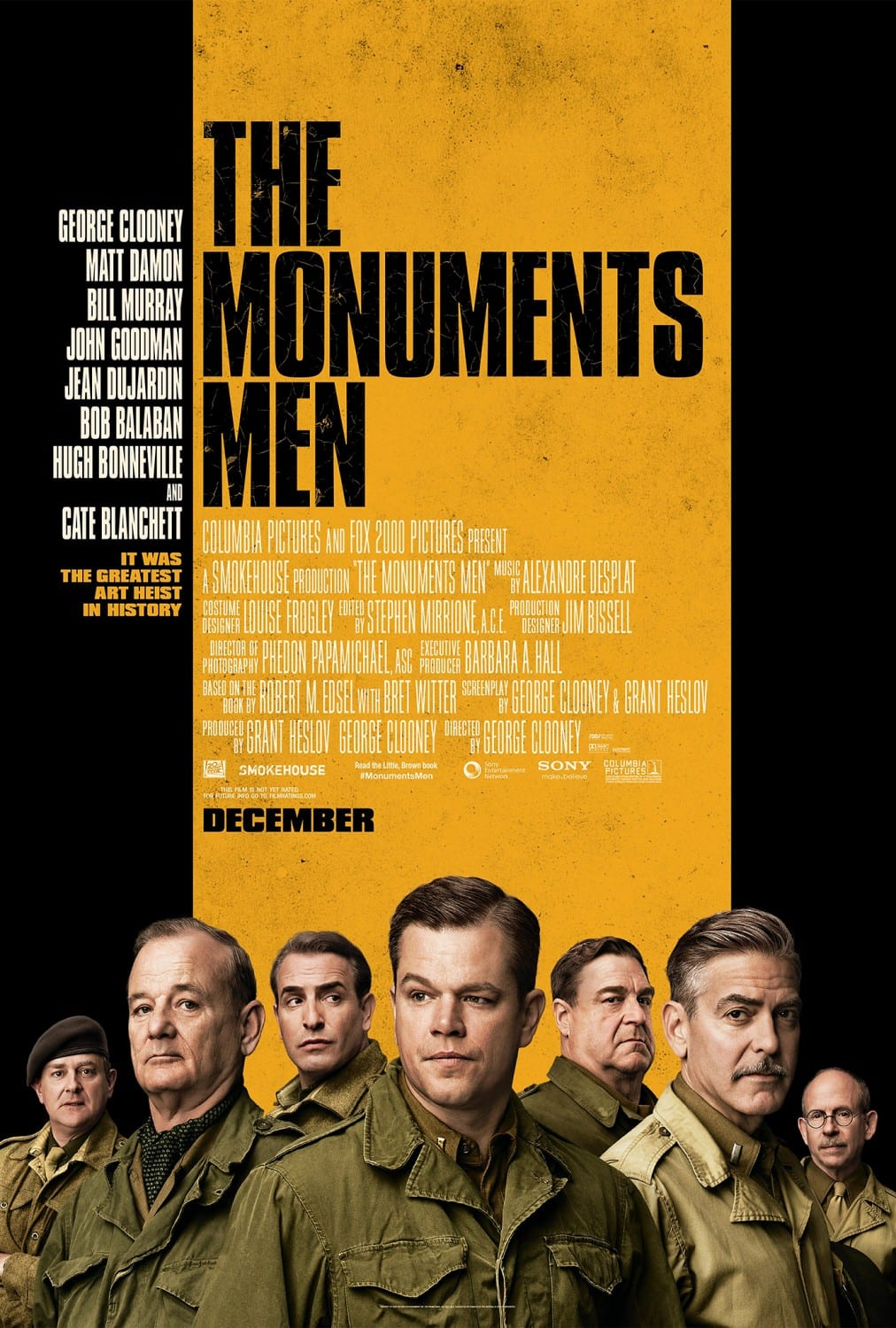 The Monuments men – Regia di George Clooney