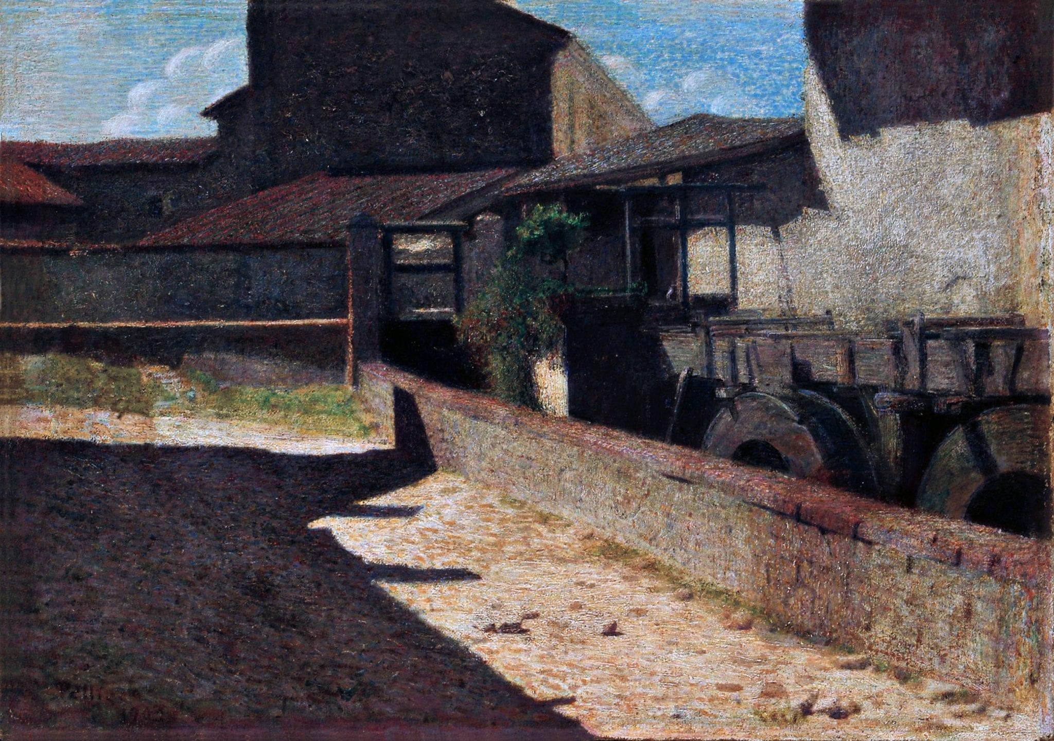 Il Vecchio Mulino di Pellizza da Volpedo inaugurerà le Gallerie Maspes