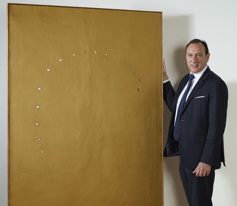 Scoperta nuova opera di Lucio Fontana. E' l'unica realizzata davanti a una telecamera