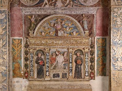 Restaurato, sabato 12 aprile sarà mostrato al pubblico l'altare Pojana