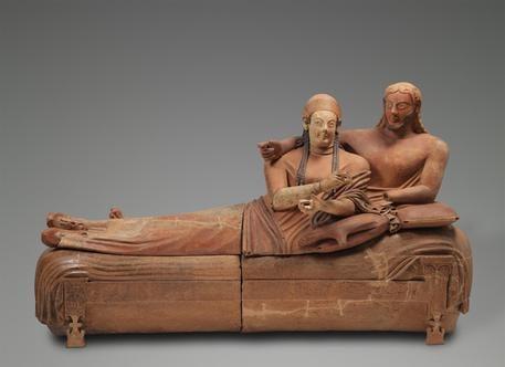 Martina Corgnati ed Elisabetta Barisoni raccontano gli etruschi a Ca' Pesaro, Venezia