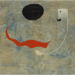 LOT 16 PROPERTY OF A DISTINGUISHED PRIVATE COLLECTOR JOAN MIRÓ 1893-1983 PEINTURE (HOMME AVEC MOUSTACHE) signed Miró and dated 1925 (lower right) oil on canvas 51 by 65cm. 20 by 25 5/8 in. Painted in 1925. Estimate 600,000 — 800,000 GBP Price realized: