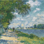 LOT 9 PROPERTY FROM THE COLLECTION OF RALPH C. WILSON, JR. CLAUDE MONET 1840 - 1926 LA SEINE À ARGENTEUIL signed Claude Monet and dated 75 (lower right) oil on canvas 59.8 by 79.8cm. 23 1/2 by 31 3/8 in. Painted in 1875. Estimate 7,000,000 — 10,000,000 GBP Price realized:
