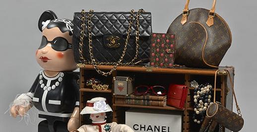 Borse, gioielli accessori di lusso griffati Chanel e Louis Vuitton da Artcurial