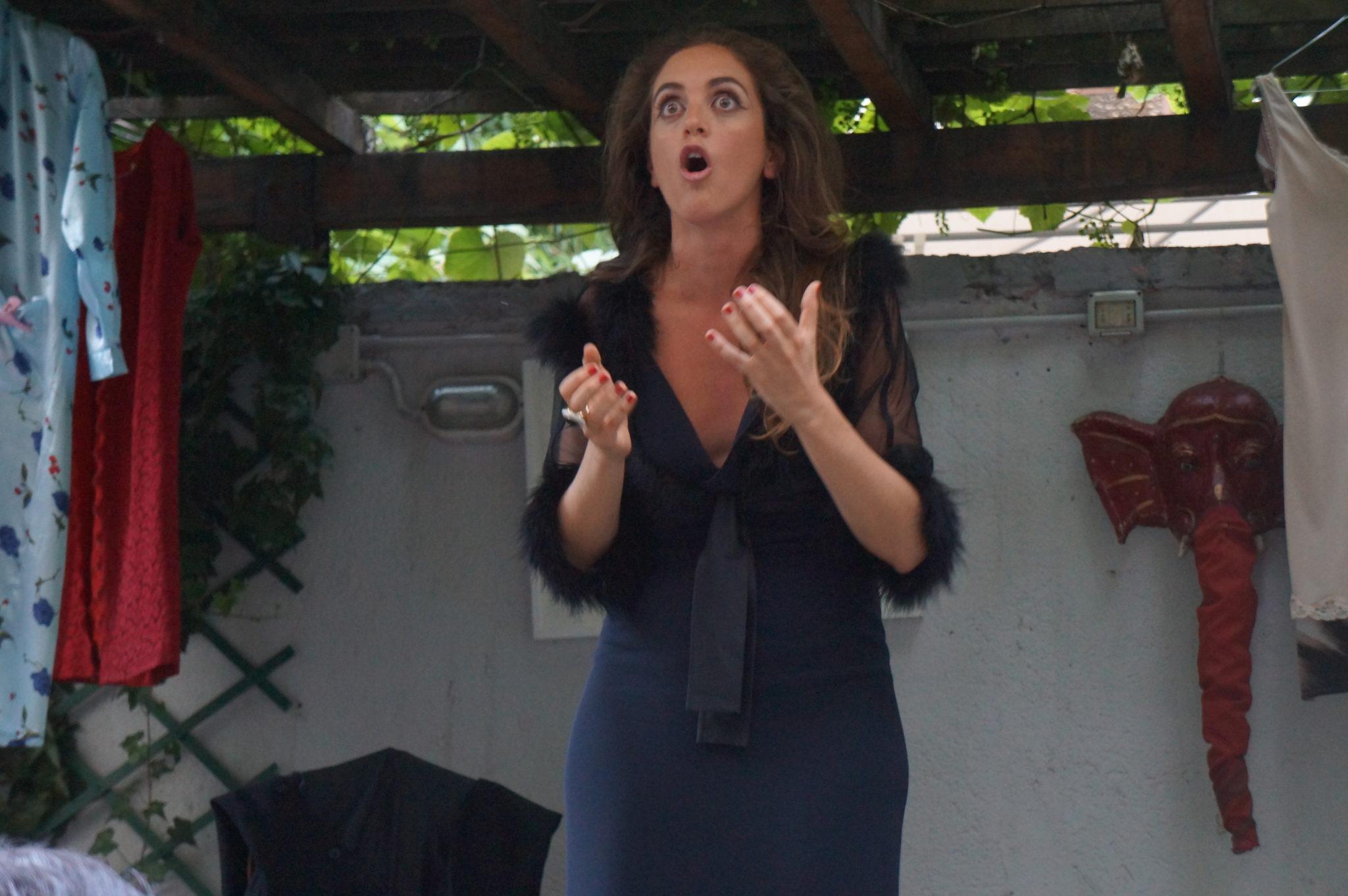 """""""Rsvp, Roberta se vi pare"""", uno spettacolo di Ippolita Baldini"""