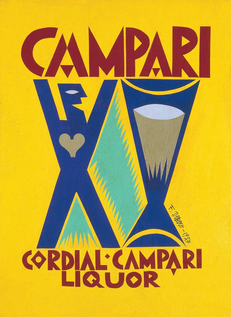 Depero - Campari, 1927