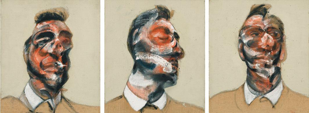 La stella della notte londinese di Sotheby's è Francis Bacon. Aggiudicato a £26,6 M il trittico di George Dyer