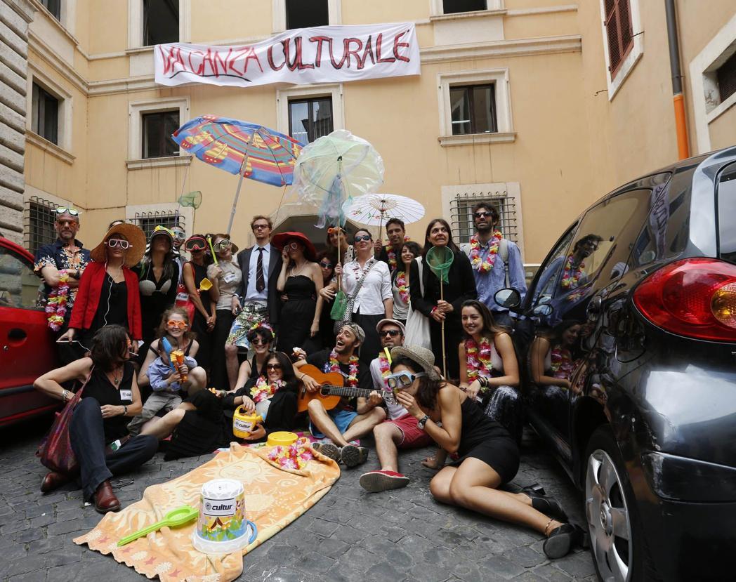 Roma - Attori e registi protestano per la nomina di un nuovo assessore alla cultura