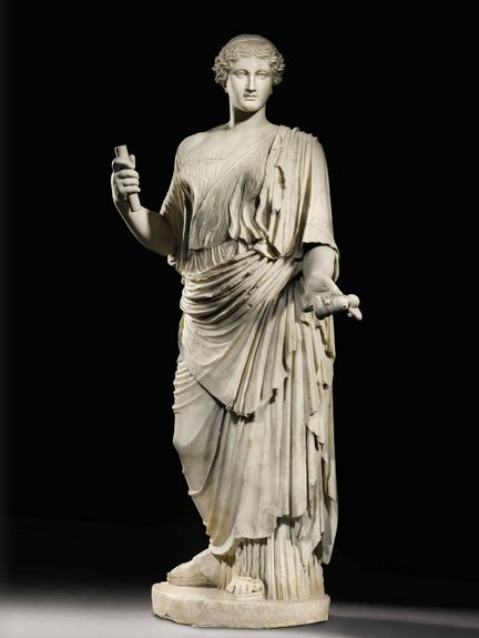 A Marble Figure of Aphrodite, Roman Imperial, circa early 1st Century A.D.