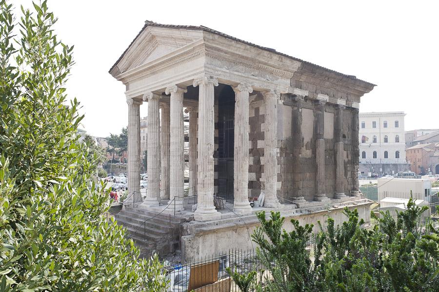 American Express finanzia il restauro del Tempio di Portuno al Foro Boario di Roma
